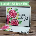 You Need This! 13 Fast & Super Fun DIY Cards | Swirly Bird Stamp Set Throwback
