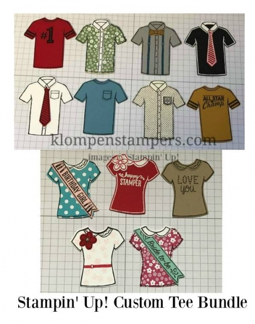 Custom Tee bundle is so fun. You can create so many different shirts with it. The ideas are endless. by Jackie Bolhuis