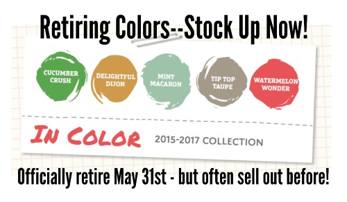 If you like the 2015-2017 In Colors, make sure to stock up, especially on reinkers before they retire and/or are sold out.