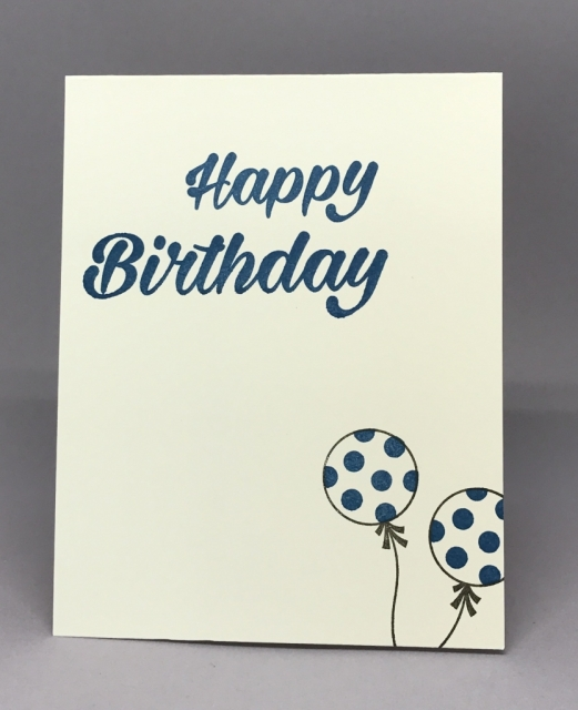 Masculine Birthday card using Birthday Bright stamp set and Moroccan Designer Series Paper. By Jackie Bolhuis