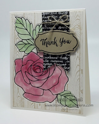 Stamping Technique series of videos using Stampin' Up Rose Wonder stamp set.  All techniques are quick and easy.  Each technique has a video step-by-step instructions as well as details for the card.