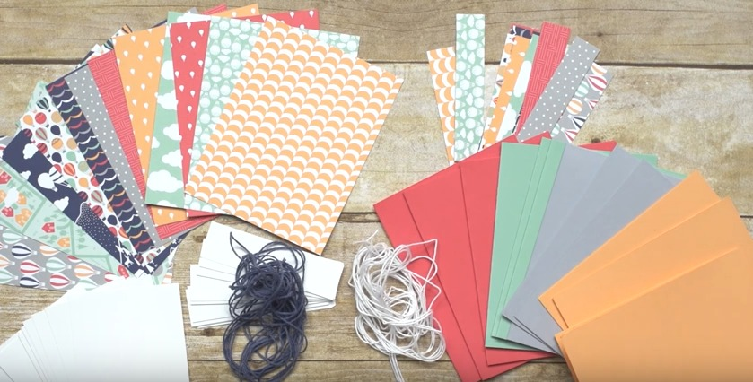 Supplies need to make the Lift Me Up cards designed by Stampin' Up! These are quick and easy. Video posted on website.
