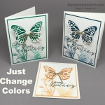 Easy Birthday Cards – Just Change Colors