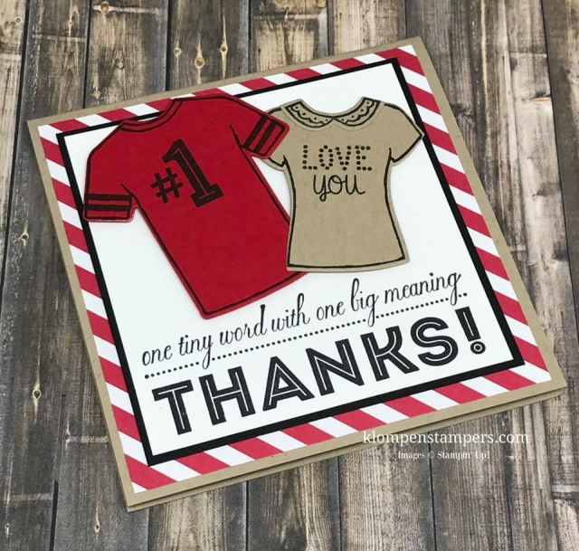 Stampin' Up! Custom Tee os perfect for quick and easy cards for any occasion.