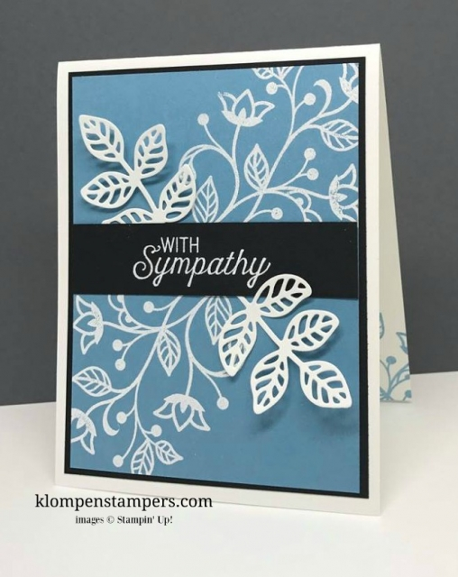 Technique & Tip Thursday: Embossing 101. Simple instructions for embossing using Flourishing Phrases stamp set. By Jackie Bolhuis