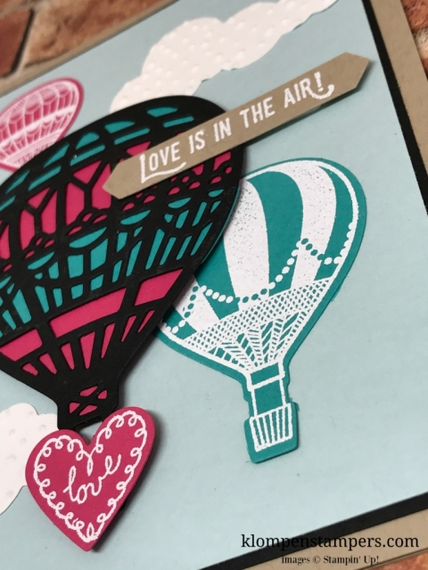Video showing lots of tips for making this card. The Lift Me Up Bundle is great for making quick and easy cards, especially when you learn this awesome trick to the balloon. Card by Jackie Bolhuis