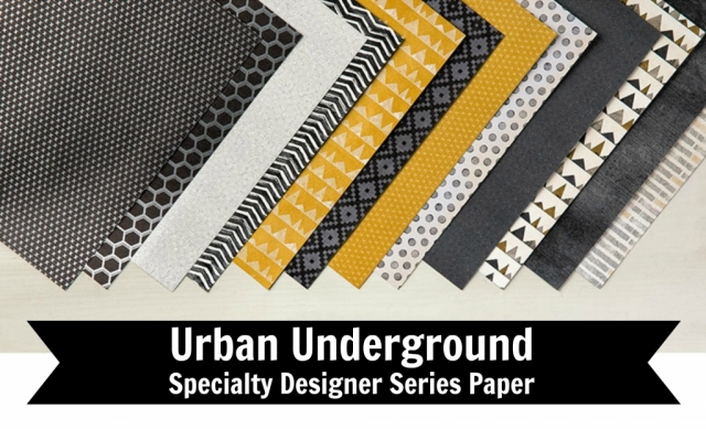 Urban Underground DSP is perfect for any occasion and making quick and easy cards. Just combine with a greeting, some colored cardstock, and you have a card. Card by Jackie Bolhuis