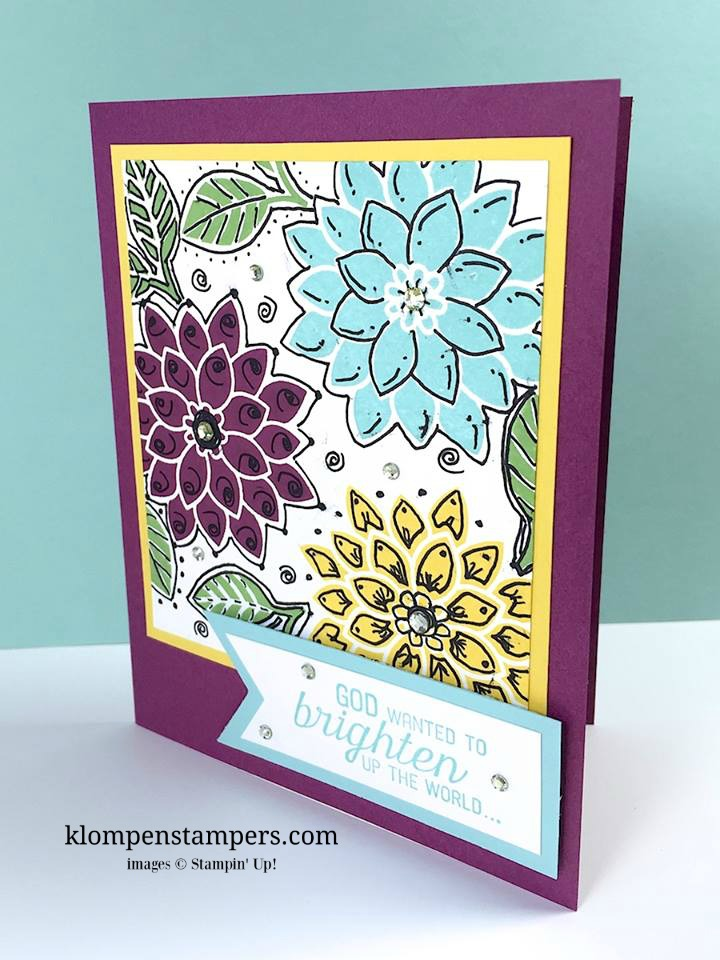 Step by step instructions for the Zendoodle technique. A fun technique to try when making cards.