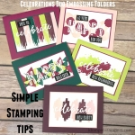 Simple Stamping Tips – Celebrations Duo Embossing Folders