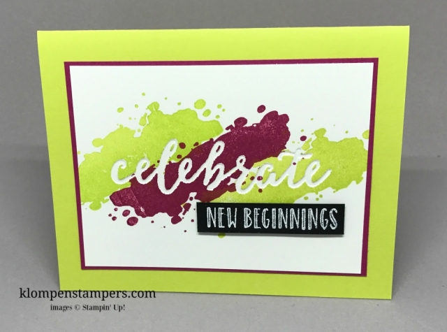 Tips for using the Celebrations Duo Embossing Folders along with the Happy Celebrations stamp set