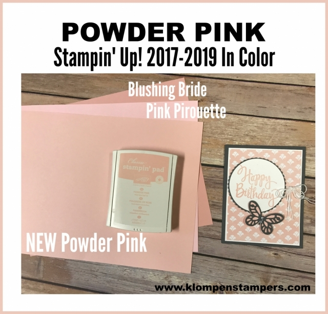 New Stampin' Up! In Colors. So fun and fresh and on trend. Check out the comparison to existing colors and some fun samples!