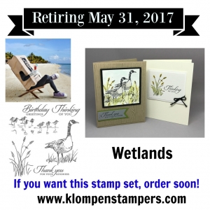 Stampin' Up! Wetlands stamp set. Great for making masculine cards for all occasions. By Jackie Bolhuis