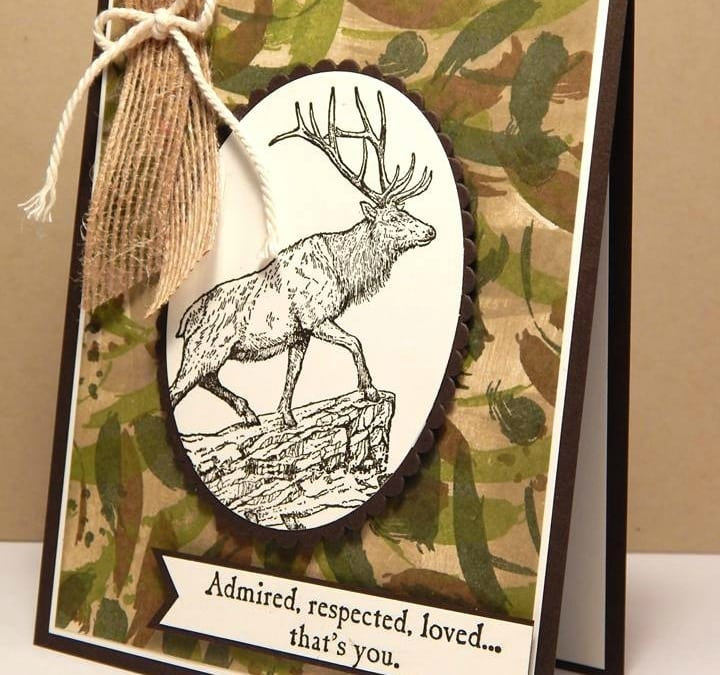 Masculine Monday–Don't Miss This Stamp Set!