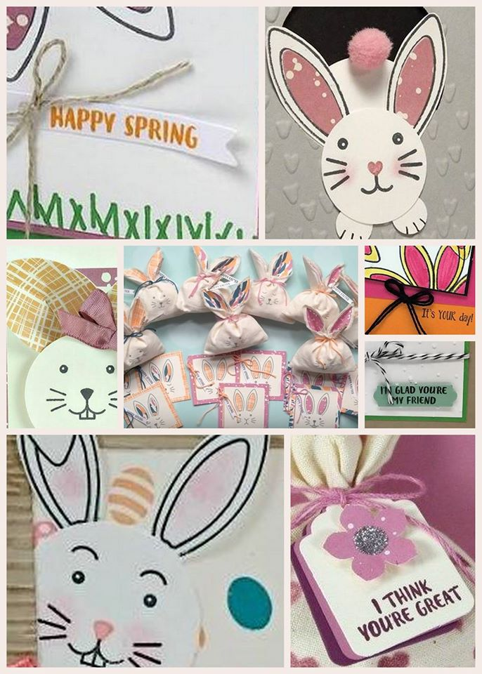 March Paper Pumpkin kit alternate and additional projects.