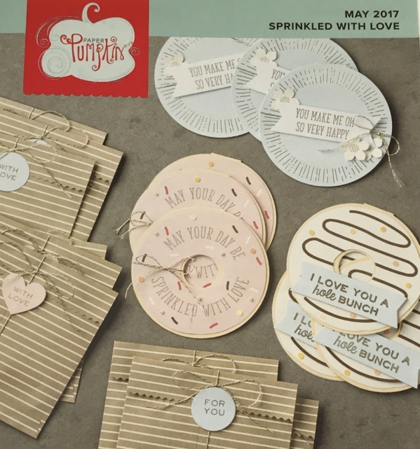 May 2017 Paper Pumpkin kit by Stampin' Up!