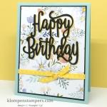Easy Birthday Card