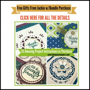 Get 25 Tutorials for using the products in the Eastern Palace Bundle when you purchase it from Jackie Bolhuis