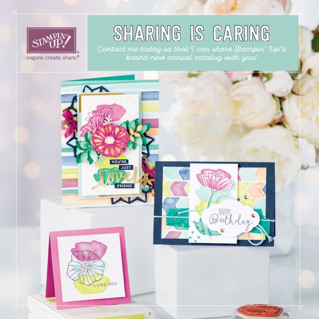 2017-2018 Stampin' Up! Annual Catalog. If you need one, I would love to send you one!