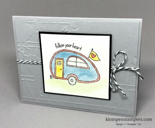You're Sublime from Stampin' Up! makes quick and easy cards when you watercolor using an AquaPainter and your ink pads. Cards by Jackie Bolhuis