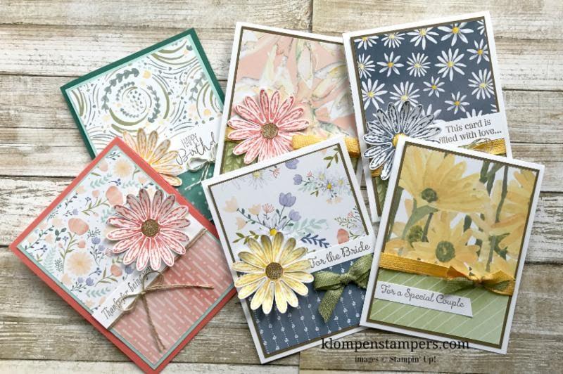 do you love designer series papers  klompen stampers