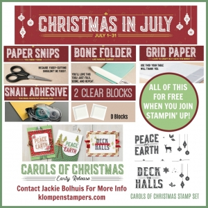Join Stampin' Up! in July and get $197 in products for just $99