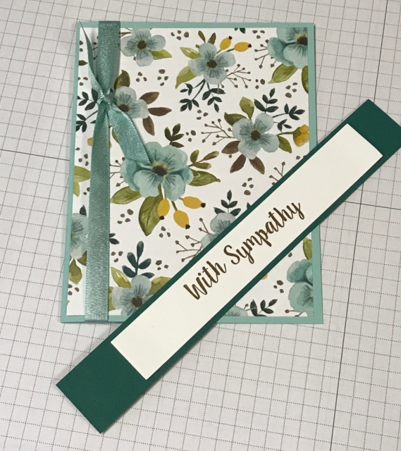 Several different ideas using the Whole Lot of Lovely DSP from Stampin' Up! Cutting instructions posted on blog. www.klompenstampers.com