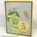 Life is Short–Fun Card With Lemon Zest Set