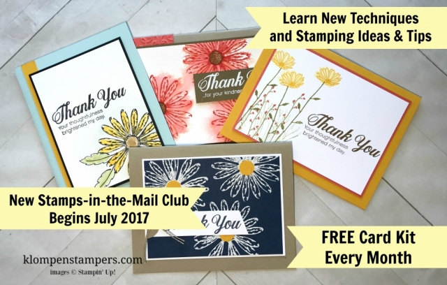 Last Chance to the Stamps-in-the-Mail Club | Klompen Stampers