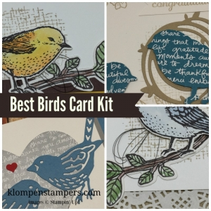 Best Birds online stamping class. Includes PDF Tutorial and video.