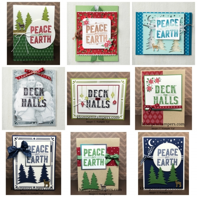 Carols of Christmas Bundle released in August from Stampin' Up!
