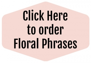 Floral Phrases online class on sale.