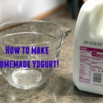 I don't stamp all the time–I also make Yogurt!