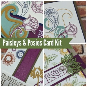 Paisleys & Posies online stamping class. Includes PDF Tutorial and video.