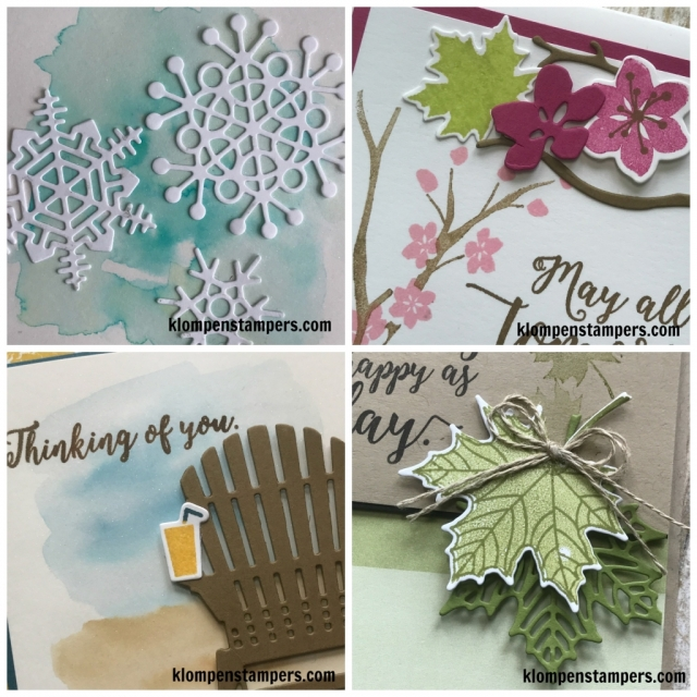 Colorful Seasons online stamping class. PDF and Video filled with tips.
