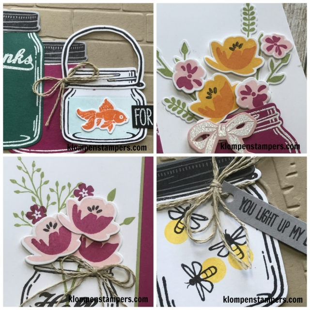Jar of Love online stamping class. Includes PDF tutorial and video filled with stamping tips.