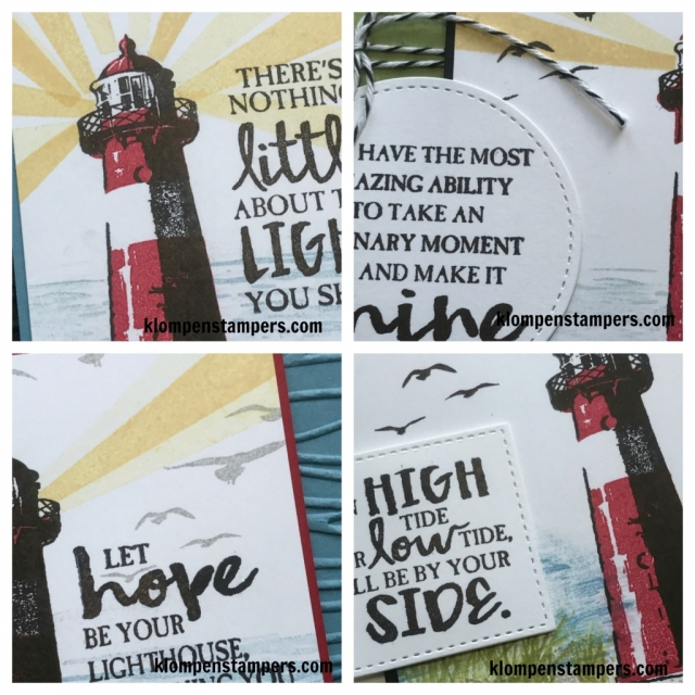 High Tide online stamping class. Includes PDF tutorial and video filled with stamping tips.