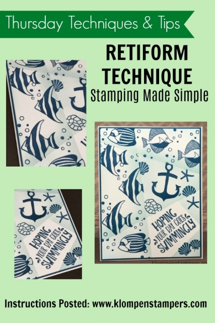 Video showing how to do the Retiform Stamping Technique.