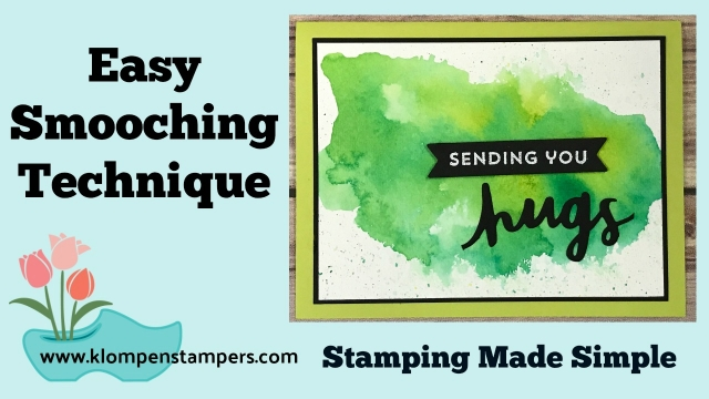 Smooching Stamping Technique