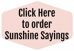 Sunshine Sayings online class on sale