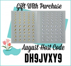 Free Metallic Enamel Shapes with $75 order using Host Code DH9JVXY9. Offer available from Jackie Bolhuis, Stampin' Up! Demonstrator
