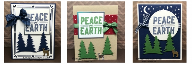 Carols of Christmas & Card Front Builder Dies by Stampin' Up!