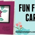 New Fun Fold Video Using Flourishing Phrases