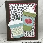 Coffee Cafe Card