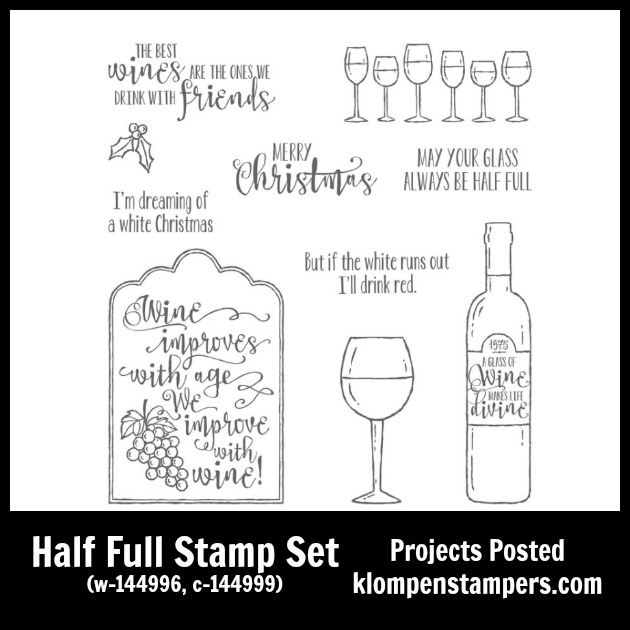 Half Full stamp set from Stampin' Up!