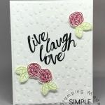 Wedding Card using Happy Birthday Gorgeous