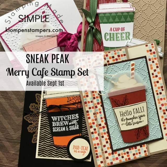 Stampin' Up! Merry Cafe stamp set in the 2017 Stampin' Up! Holiday Catalog.