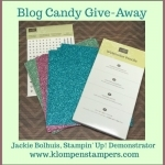 Blog Candy Give-Away