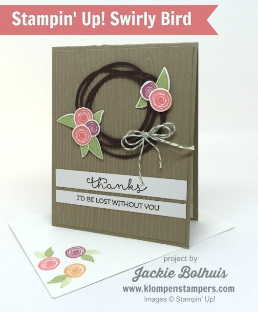 How-to-Make-a-Handmade-Thank-You-Card-Flowers-and-Wreath-in-Pink-and-Purple-Blooms