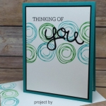 Lots of projects using Swirly Bird stamp set from Stampin' Up!
