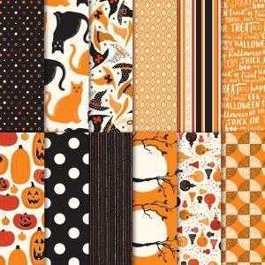 Spooky Night Designer Series DSP Paper